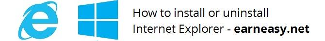 install-uninstall-internet-explorer